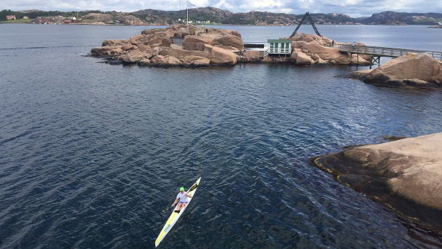 Surfski Adventures in Sweden